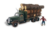 Woodland Scenics As5343 N Train Figures Tim Burr Logging