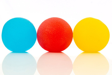 Squishy Stress Relief Balls (3-pack) - Tear-resistant