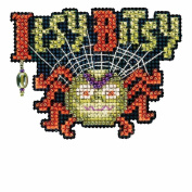 Itsy Bitsy Spider Bead Cross Stitch Kit Mill Hill Autumn Harvest Mh181621