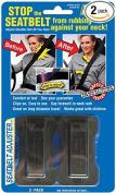 Masterlink Marketing Black Seatbelt Adjuster,