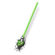 3d Light Fx Star Wars Yoda Sabre Light 3d Deco Led Wall Light