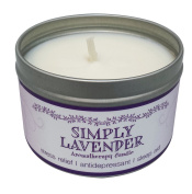 Our Own Candle Company Soy Wax Aromatherapy Scented Candle, Simply Lavender, 190ml