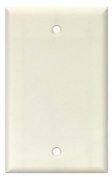 Arrow Hart 2129W-BOX Standard Wall Plate, 1 Gang, 10cm - 1.3cm L X 5.1cm - 1.9cm W X 0.2cm T, White