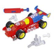 Educational Insights 4131 Design & Drill Power Play Race Car