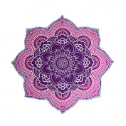 The Boho Street - 100% Cotton Large Round Lotus Flower Mandala Light Weight New