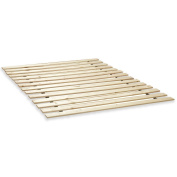 Classic Brands Heavy Duty Twin XL Wooden Bed Slats Bunkie Board Frame for Any Mattress Type