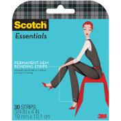 Scotch Essentials Permanent Hem Bonding Strips-.190cm x 10cm 30/pkg