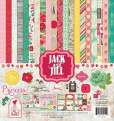 Echo Park Collection Kit 30cm X 30cm -jack & Jill Girl 718122954599