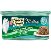 Purina Fancy Feast Medleys Tuscany Collection Gourmet Wet Cat Food Variety Pack- (24) 90ml Cans