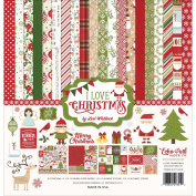 Echo Park Paper Company Ilc114016 I Love Christmas Collection Kit