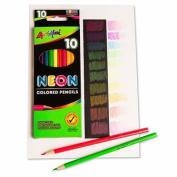 Neon Coloured Pencils