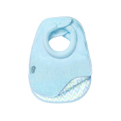 Tommee Tippee Closer To Nature Comfi Neck Bib, Reversible Blue, Small, 2 Count