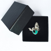 Mermaid Mood Ring With Black Box By Ocea Creations