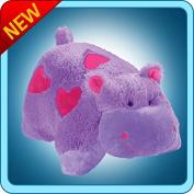 Authentic Pillow Pets Valentine Hearts Hippo Large 46cm Plush Toy