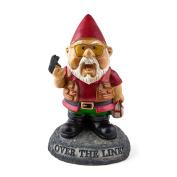 """Bigmouth Inc """"over The Line!"""" Garden Gnome Statues"""