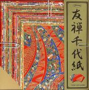 Yuzen Chiyogami Large Set Of 40 Sheets, New,  .