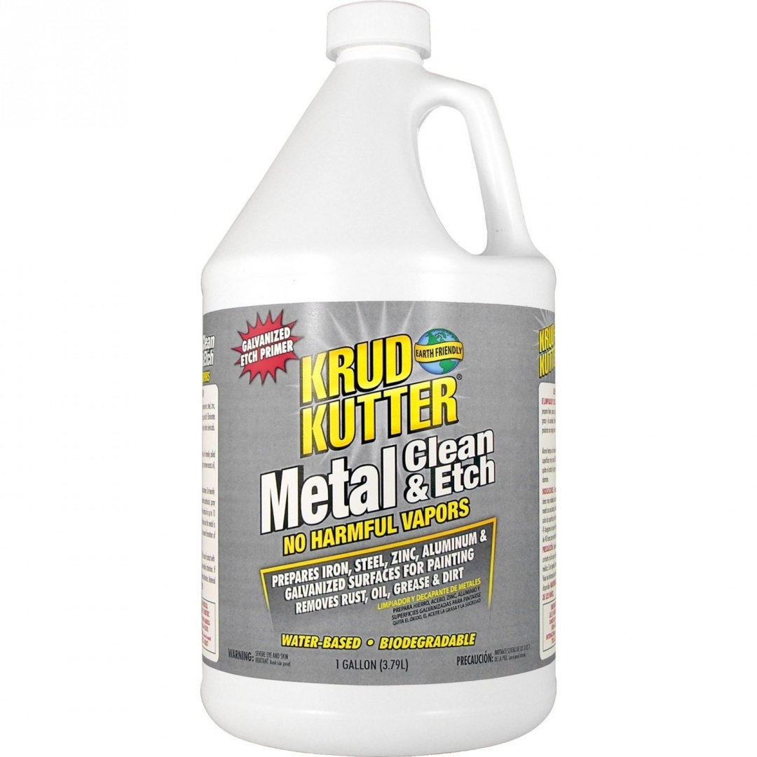 Krud Kutter Me01 Red Metal Clean And Etch With Bland Odour, 3 8l, New, Free  S