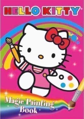 Hello Kitty ___ Magic Painting ___ Activity Book ___ ___ Freepost Uk