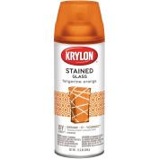 Krylon K09034000 Stained Glass Paint Spray, Tangerine Orange, 340ml
