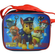 Paw Patrol Zippered Lunch Box Bag Kit With Strap, New,  .