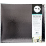 We R Classic Leather D-ring Album 30cm x 30cm -silver