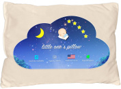 Little One's Pillow - Toddler Pillow, Delicate Organic Cotton, Hand-crafted In