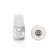 Usa Made Metal Design Stamp, 4mm- Impressart Steel Hand Punch, Hallmark