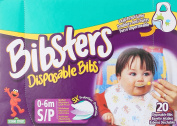 Bibsters Disposable Bib - Small - Infant - 20 Ct