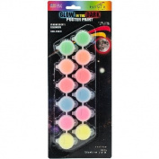"""""""washable Poster Paint Pots 70ml-glow-in"""