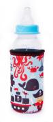 Kidzikoo - #1 Neoprene Baby Bottle/sippy Cup Insulator Cooler Coozie - Pirates,