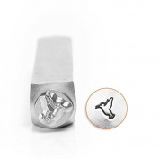 Hummingbird Impressart Metal Design Stamp- Steel Hand Punch For Jewellery, Crafts