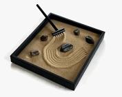 Zen Garden Kit Black Indoor Zen Garden Relaxation Handmade