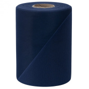 Falk Fabrics Tulle Spool 15cm 100-yard Navy Craft Made In Usa Falk Fabrics Llc New