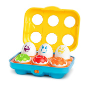 Bright Starts Giggling Gourmet Put 'n Shake Eggs New
