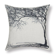 Euphoria Home Decorative Cushion Covers Pillows Shell Cotton Linen Blend Vintage