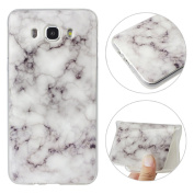Galaxy J7 2016 Case, Galaxy J710 Cover Case, Moon mood [Marble Stone Pattern] Ultra Slim Soft TPU Silicone Case Colourful Marble Effect Design Scratch Resistant Protective Back Bumper Skin Shell Phone Case Cover for Samsung Galaxy J7 2016 J710