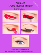 ORIGINAL Quick Eyeliner Stickies STARTER SET 12 pcs