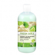 Fresh Juice Creamy shower gel White Chocolate and Lime extracts 500ml