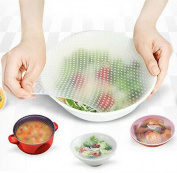 Malloom Silicone Food Wrap Reusable Seal Cover Stretch Fresh Keeping - Kitchen Tools