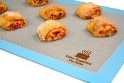 "Silicone Baking Mat Non-Stick, Size 11 5/8"" X 16 1/2"" (Half Sheet), 1Mm Thick."