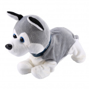 Electronic Sound Control Dogs Interactive Puppy Robot Pet Dog Bark Stand Walk Soft Toys For Kids