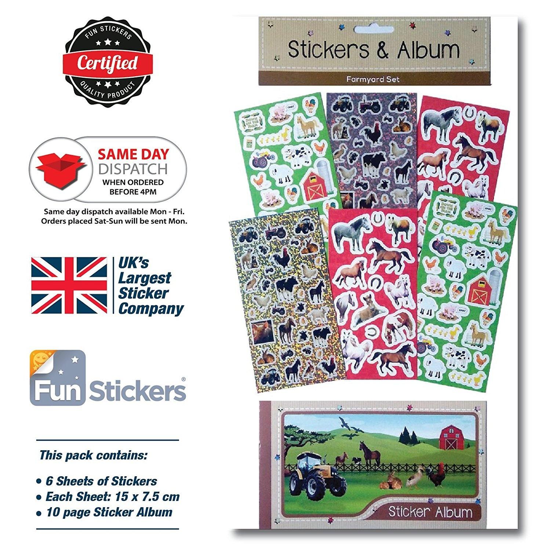 Sticker Album Toys Buy Online From Puffy Farmyard Fun