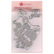 Woodware A6 Clear Cling Stamps - JGS514 Bold Blooms - Charlotte