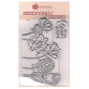 Woodware A6 Clear Cling Stamps - JGS508 Five in a Row