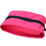 Wicemoon Travel Folding Shoes Bag Zipper Pouch Simple Nylon Waterproof Outdoor Sack