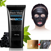 Blackhead Peel Off Mask, Blackhead Remover Mask, Purifying Peel-off Mask Oxygen Beauty Mask Black Mud Pore Removal Strip Mask For Face Nose Acne Treatment Oil Control