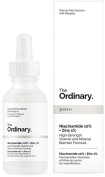 The Ordinary. Niacinamide 10% + Zinc 1%. Serum ANTIROJECES 30 ml, Clinical Formulations with Integrity.