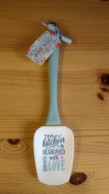 Cook Shop sentiment spatula gift - This kitchen is seasoned with love