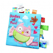 TOYMYTOY Baby Animal Puzzle Cloth Book Baby Early Development Toy Cloth Books