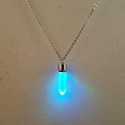 LED Light up Crystal Pendant Necklace - Glow crystal jewellery Necklace